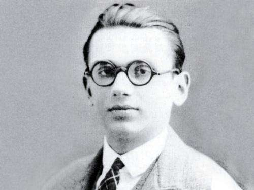 Kurt Gödel studied statements which refer to themselves, and his results shook the foundations of mathematics