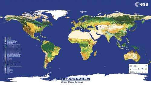 Land cover 2010