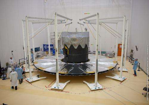 Largest ever space camera is ready to map a billion stars