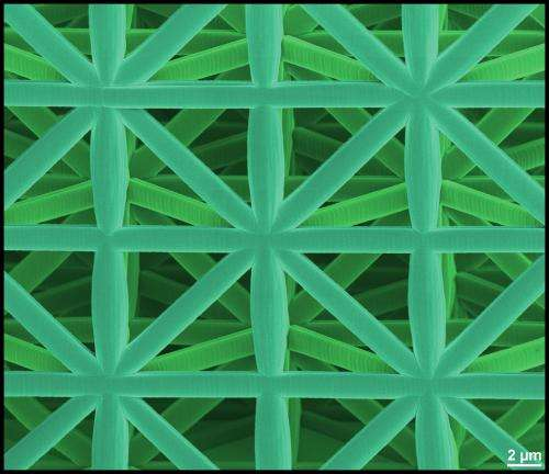 Lightweight construction materials of highest stability thanks to their microarchitecture