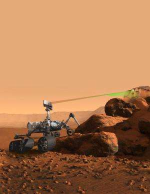 Los Alamos laser selected for 2020 Mars mission