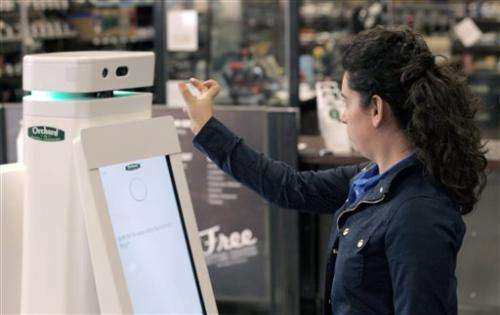 Lowe's debuts customer service robots in store