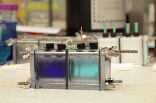Low-grade waste heat regenerates ammonia battery