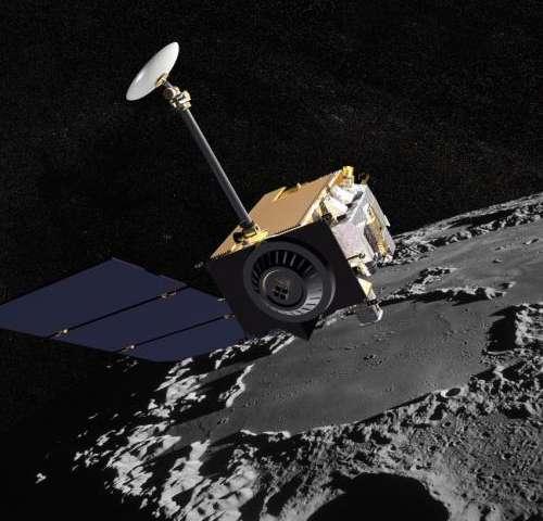 LRO spacecraft captures images of LADEE's impact crater