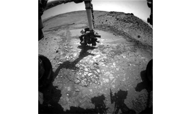 Mars Rover Team Chooses Not to Drill 'Bonanza King'