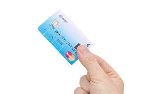 MasterCard, Zwipe announce fingerprint-sensor card