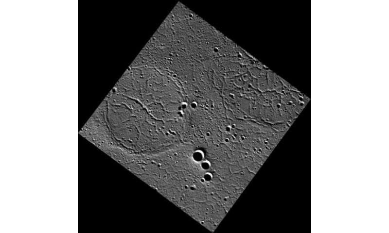 MESSENGER spies a soccer ball on Mercury