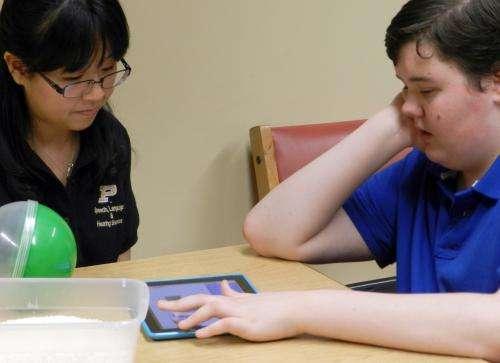 Mobile app to help children, families affected by severe, non-verbal autism