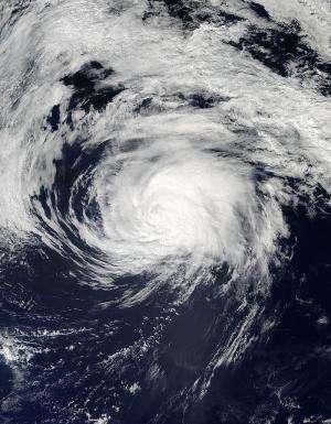 NASA catches a weaker Edouard, headed toward Azores