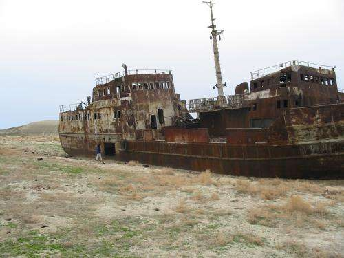 NASA data find some hope for water in Aral Sea basin