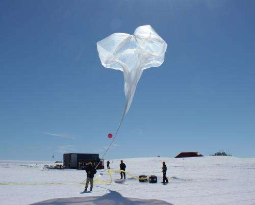 NASA-funded science balloons launch in Antarctica