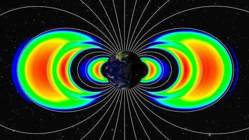 NASA probes studying Earth's radiation belts to celebrate two year anniversary