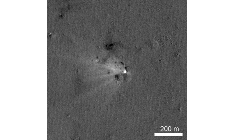 NASA's LRO spacecraft captures images of LADEE's impact crater