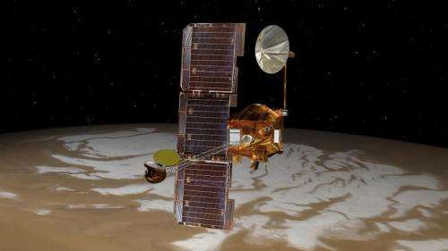 NASA's Mars Odyssey orbiter watches comet fly near