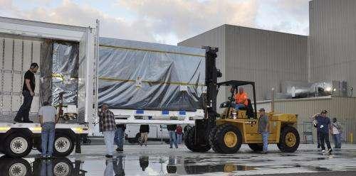 NASA Soil Moisture Mapper arrives at launch site