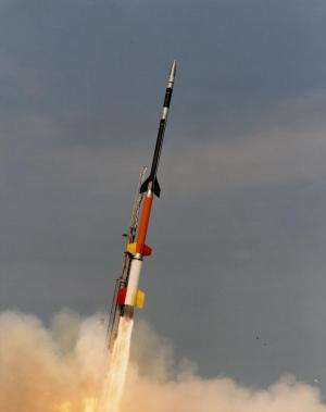 NASA sounding rocket to study interplanetary medium