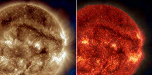 NASA's SDO watches giant filament on the sun
