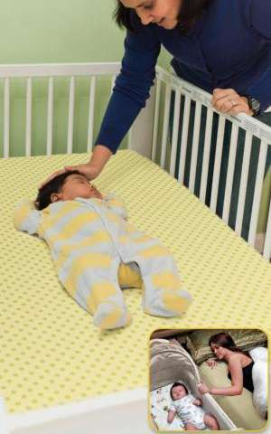 Nearly 55 percent of US infants sleep with potentially unsafe bedding