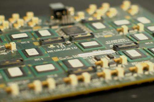 Scientists create circuit board modeled on the human brain