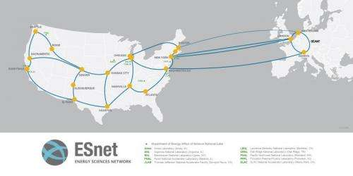 New high-speed transatlantic network to benefit science collaborations across the US