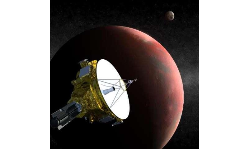 New Horizons sights tiny pluto moon as spacecraft races toward dwarf planet