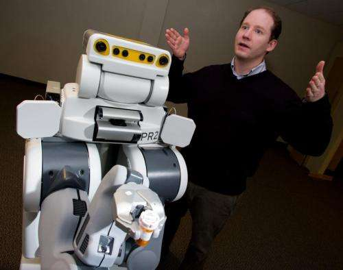 New RFID technology helps robots find household objects