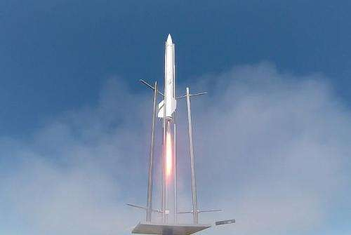 New rocket propellant and motor design offers high performance and safety