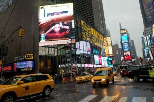 New York's Times Square is preparing to host a 25,000 square feet, 24-million-pixel video display board—the world's highest reso