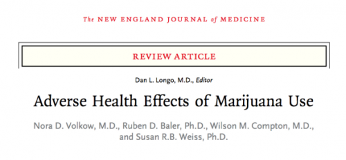 NIDA review summarizes research on marijuana's negative health effects