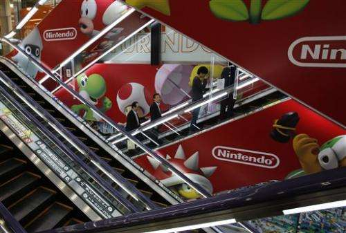 Nintendo sinks to loss on lagging Wii U sales
