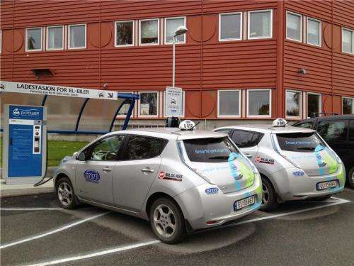 No danger from magnetic fields in electric cars