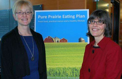 Nutrition researchers create eating plan for the Prairies