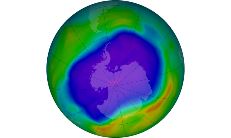 Ozone-depleting compound persists, NASA research shows