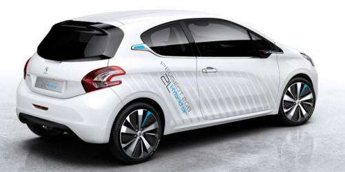 Peugeot hybrid compressed-air car set for Paris Motor Show