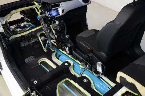 Peugot to sell hybrid cars that run on gas and compressed air