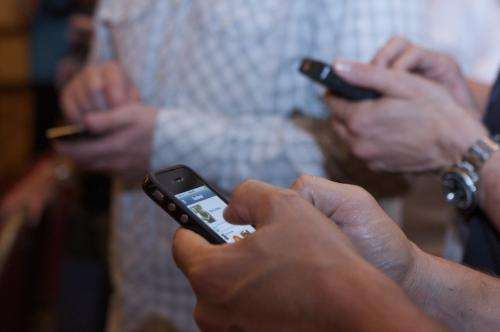 Phone attachment linked with mental health stress