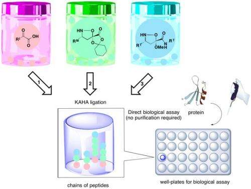 'Pick 'n' Mix' chemistry to grow cultures of bioactive molecules