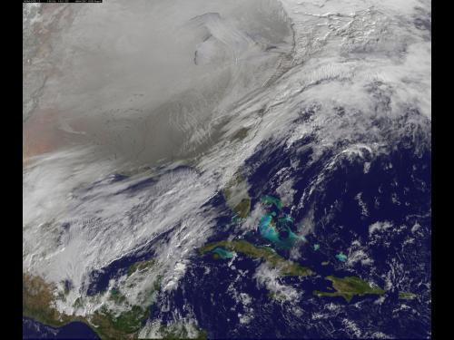 Polar vortex enters northern U.S.