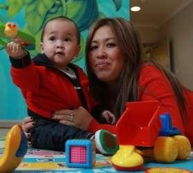 Poor mother-baby bonding passed to next generation