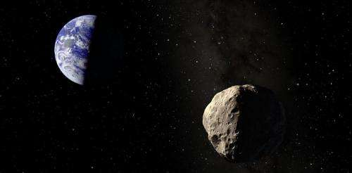Potentially hazardous asteroid surprises astronomers