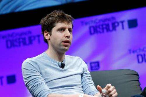 President of Y Combinator, Sam Altman speaks on May 5, 2014 in New York
