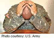 Psychiatric ills widespread among U.S. soldiers: studies
