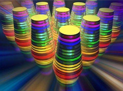 Rainbow-catching waveguide could revolutionize energy technologies