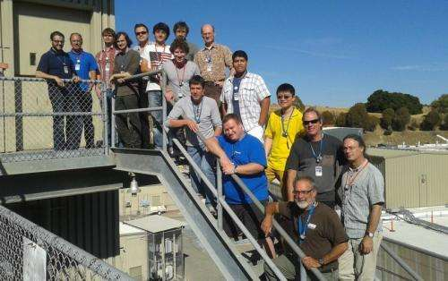 Rebooted muon experiment tests detector design at SLAC