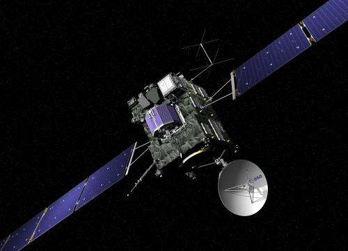 Rosetta continues into its full science phase
