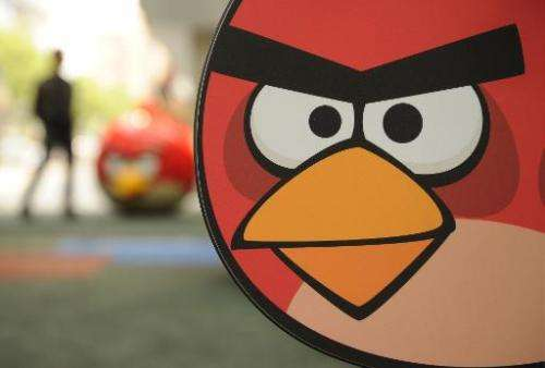 """Rovio, the Finnish maker of the popular mobile game """"Angry Birds"""" is to cut up to 130 jobs,  blaming flagging sales gr"""