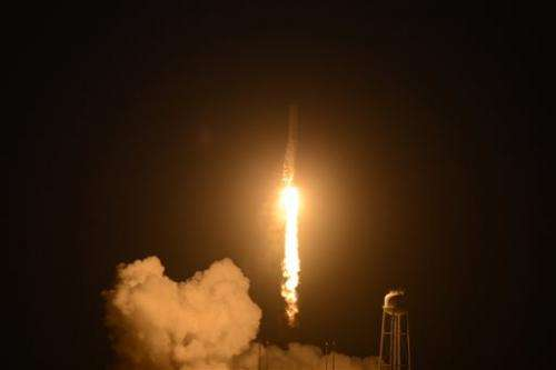 Russians deliver space station cargo after US flop