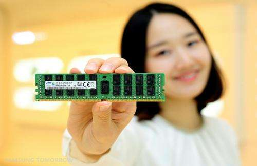 Samsung mass produces industry's first 8-gigabit DDR4 based on 20 nanometer process technology