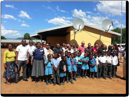 Satellites improving lives in rural Africa