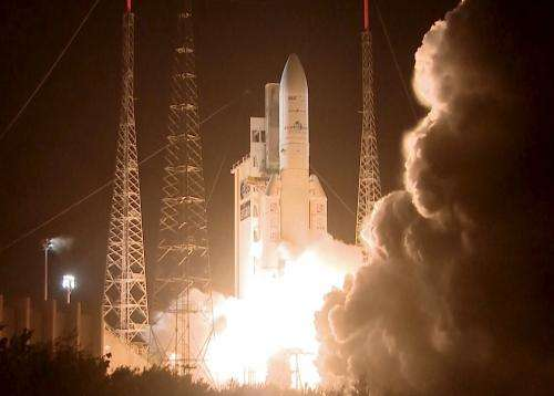 Second launch this year for Ariane 5
